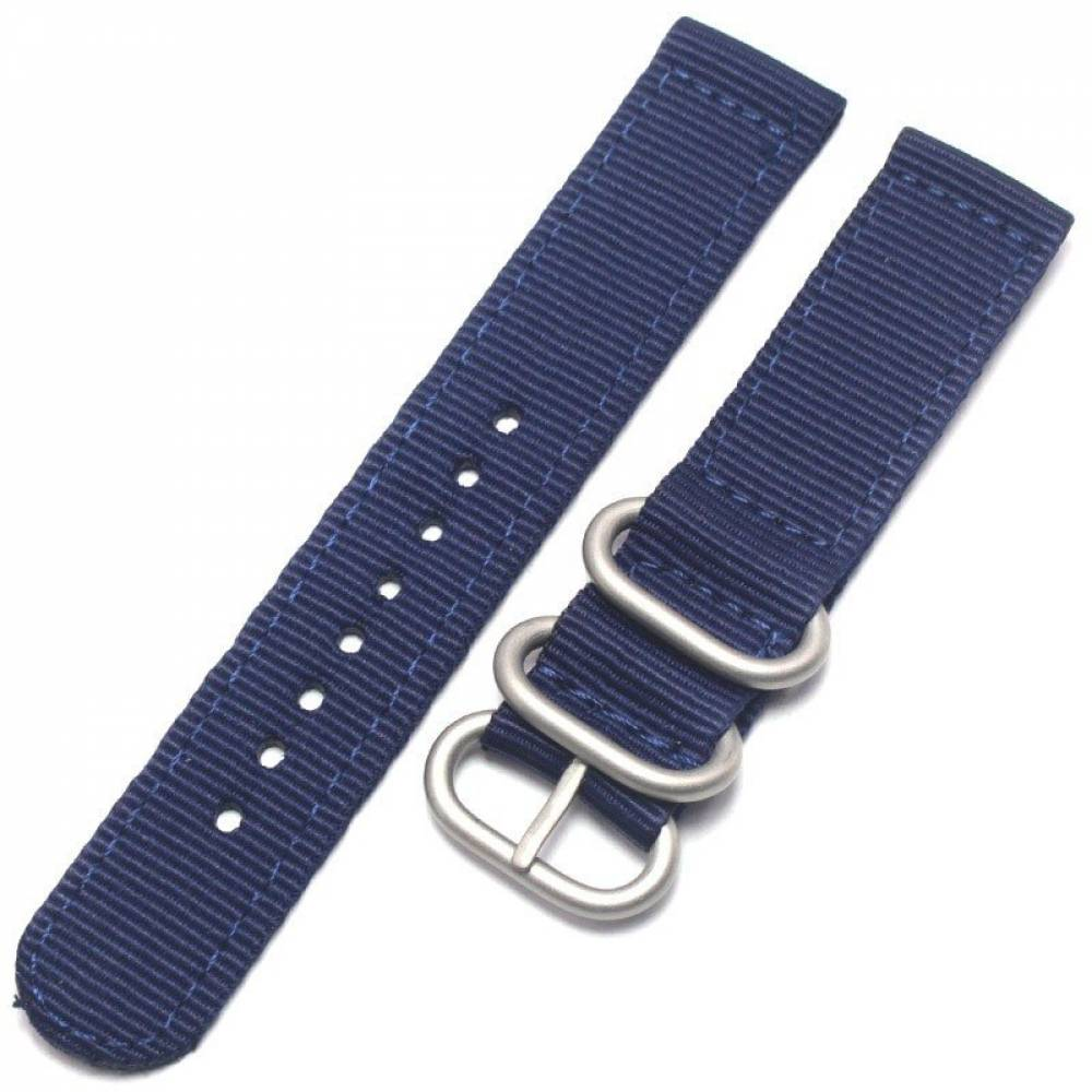 Nylon Watch Strap with Stainless Steel Pin Buckle