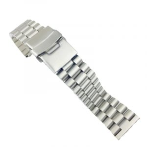 Solid Stainless Steel President Style Watch Band