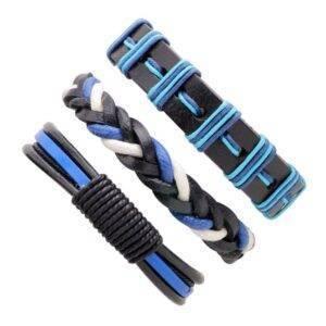 3 piece bracelet set in 9 different combinations