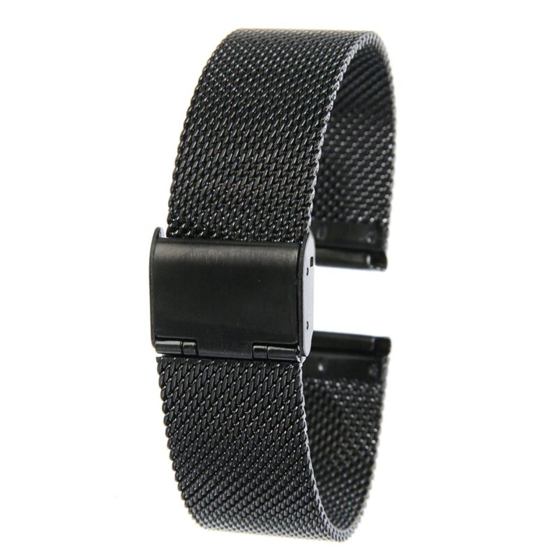 Stainless Steel Mesh Watch Band with Adjustable Clasp 2