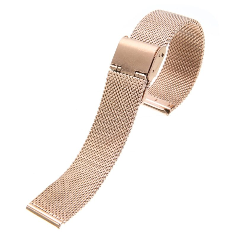 Stainless Steel Mesh Watch Band with Adjustable Clasp 11