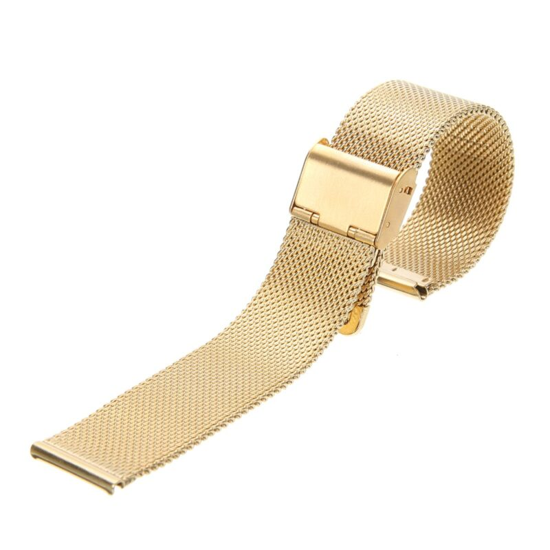 Stainless Steel Mesh Watch Band with Adjustable Clasp 12