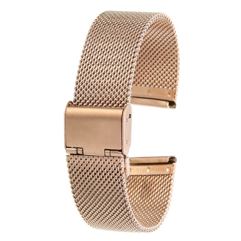 Stainless Steel Mesh Watch Band with Adjustable Clasp 3