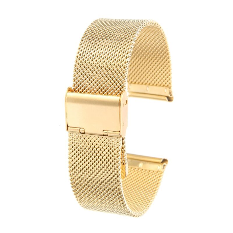 Stainless Steel Mesh Watch Band with Adjustable Clasp 4