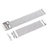 Stainless Steel Mesh Watch Band with Adjustable Clasp 19