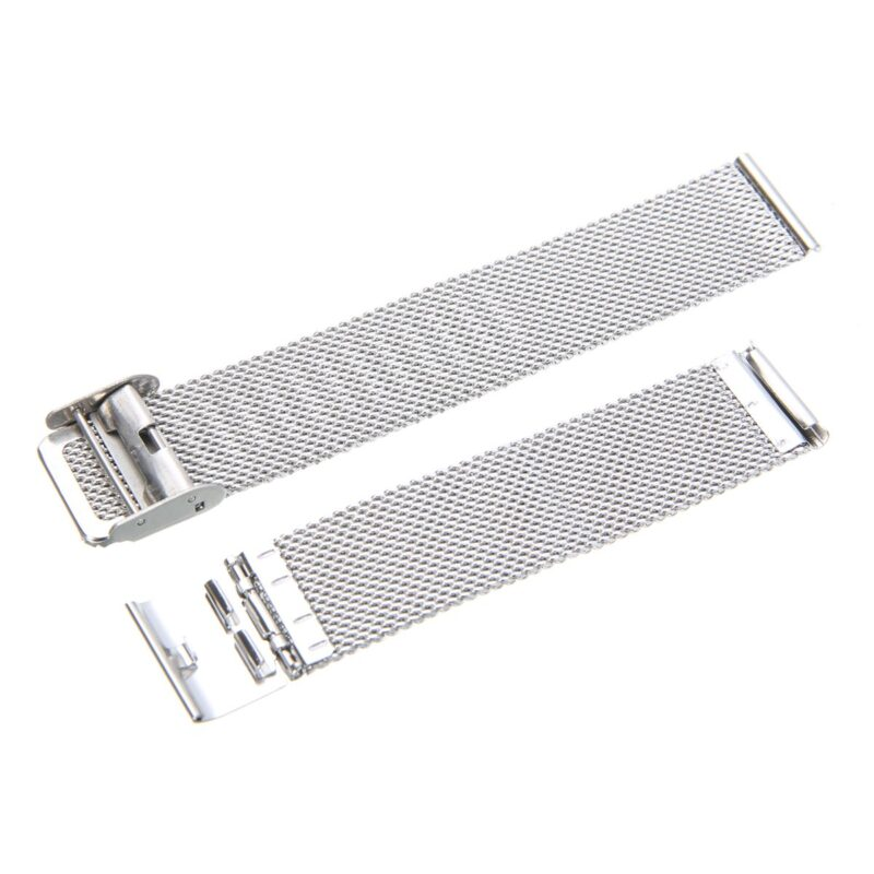 Stainless Steel Mesh Watch Band with Adjustable Clasp 5