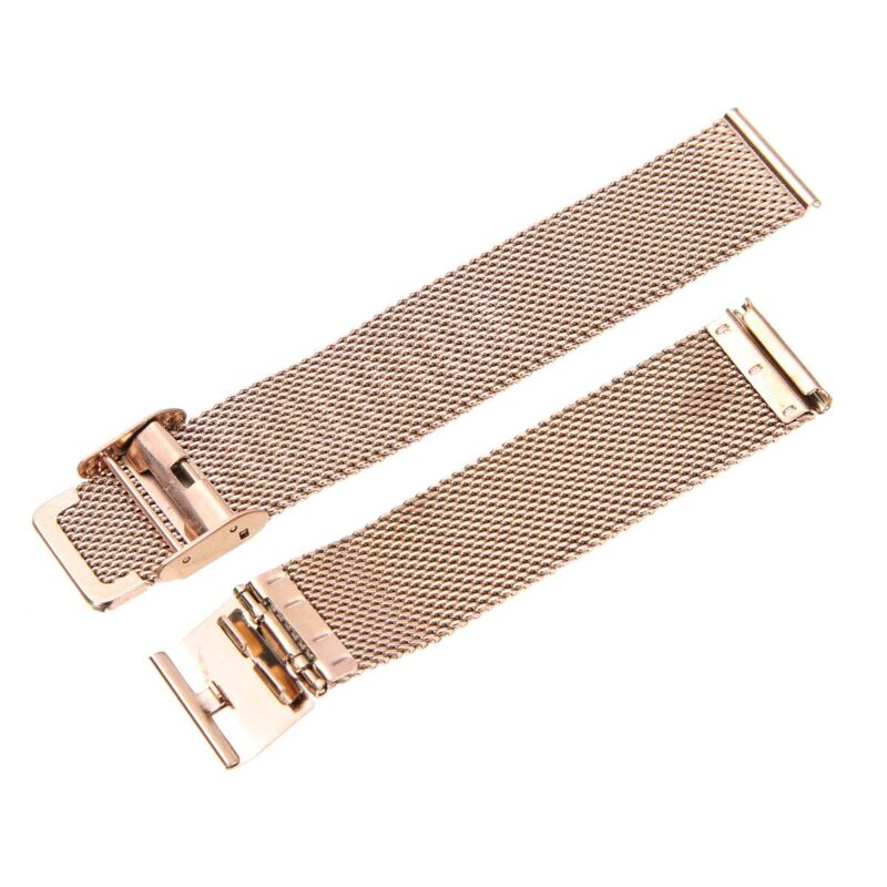 Stainless Steel Mesh Watch Band with Adjustable Clasp 7