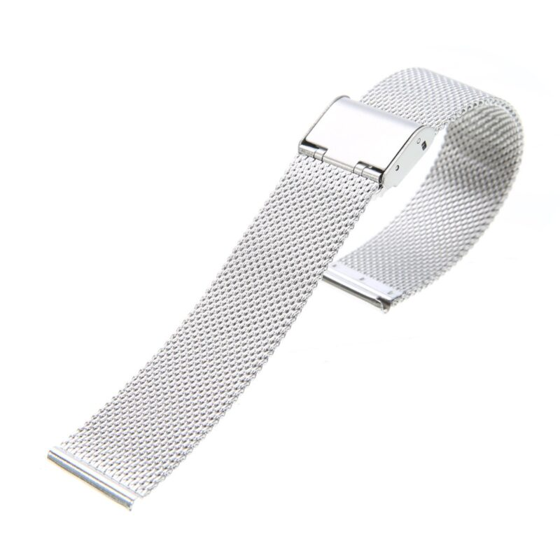 Stainless Steel Mesh Watch Band with Adjustable Clasp 9