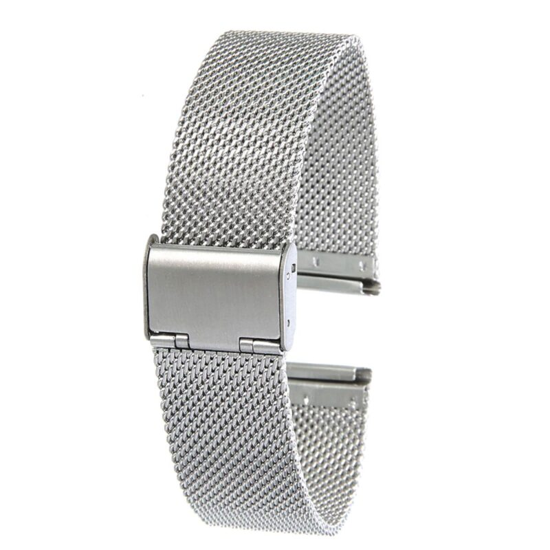 Stainless Steel Mesh Watch Band with Adjustable Clasp 1