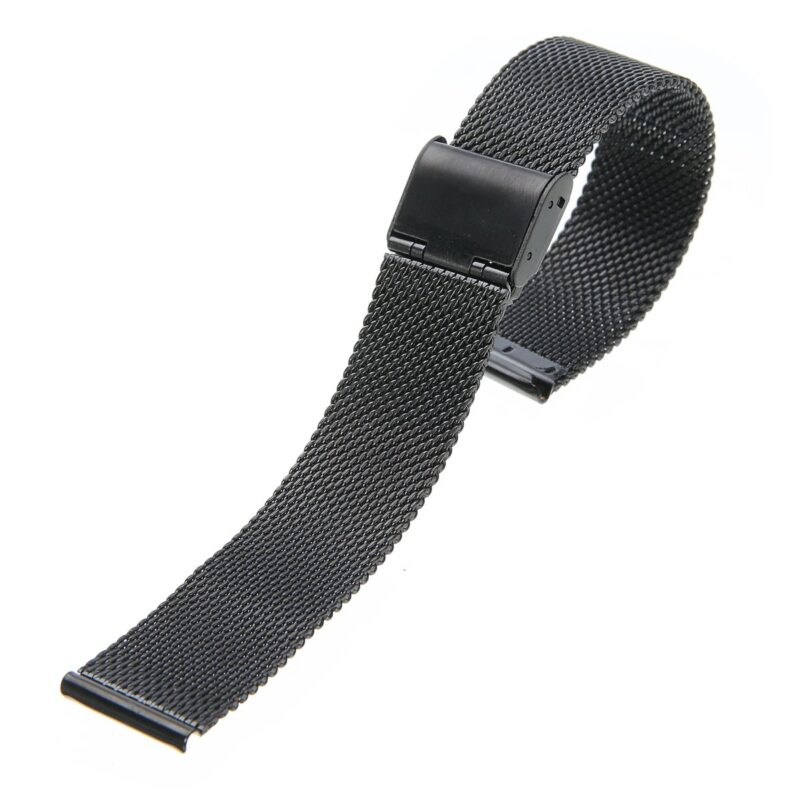 Stainless Steel Mesh Watch Band with Adjustable Clasp 10