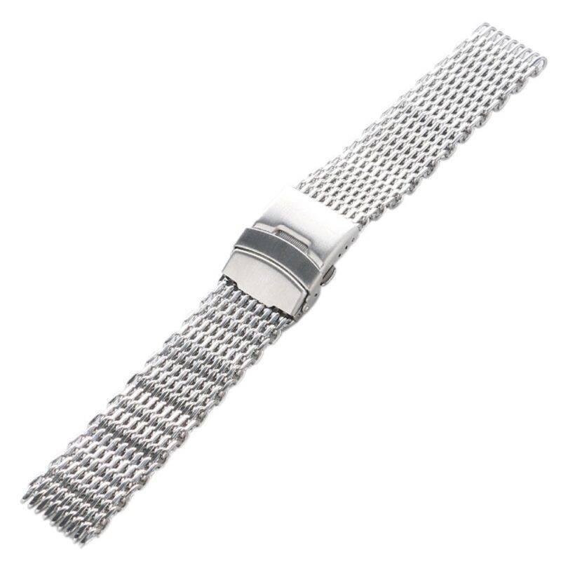 Stainless Steel Shark Mesh Watch Band